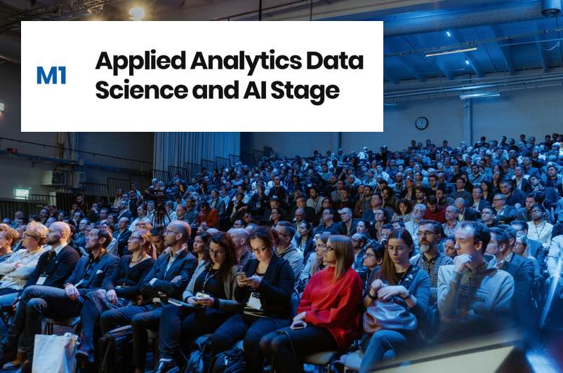 Announcing the Applied Analytics Data Science and AI Stage Speakers