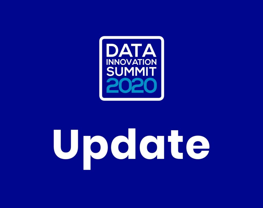New dates for Data Innovation Summit – 20/21st of August 2020 – Kistamässan, Stockholm, Sweden